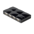 Belkin F5U701-BLK 7-port USB 2.0 Mobile Hub - Black