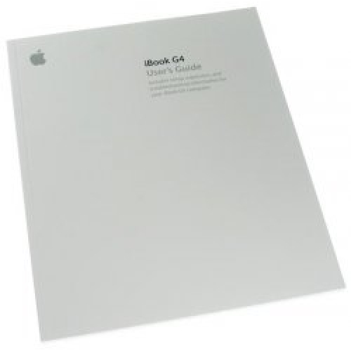 ibook g4 user s manual rh usedmac com Apple iBook Laptop Apple iBook Laptop 12 1 M9164LL A