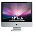 "MB322LL/A Apple 24"" iMac 2.8GHz Intel Core 2 Duo- El Capitan-Grade A"