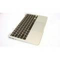 "661-6629 Top Case Keyboard w/ Trackpad - 2012 Macbook Air 11"" A1465"