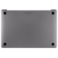 "923-01456 MacBook Pro 15"" Touch Bar Bottom Case 2016 2017, Space Gray -New"