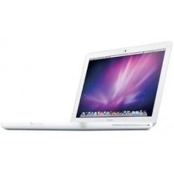 "MC516LL/A  MacBook 2.4GHz C2D 13"" 4GB, High Sierra (White/Unibody)-2010"