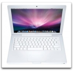 MB403LL/A MacBook 2.4GHz Intel Core 2 Duo 13.3''(White) 2008-Grade A