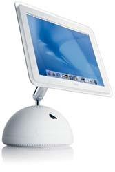 """iMac G4 1Ghz 512MB 80GB Super 17"""" -Pre owned"""